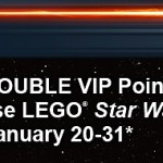 Double VIP Points - January 2012