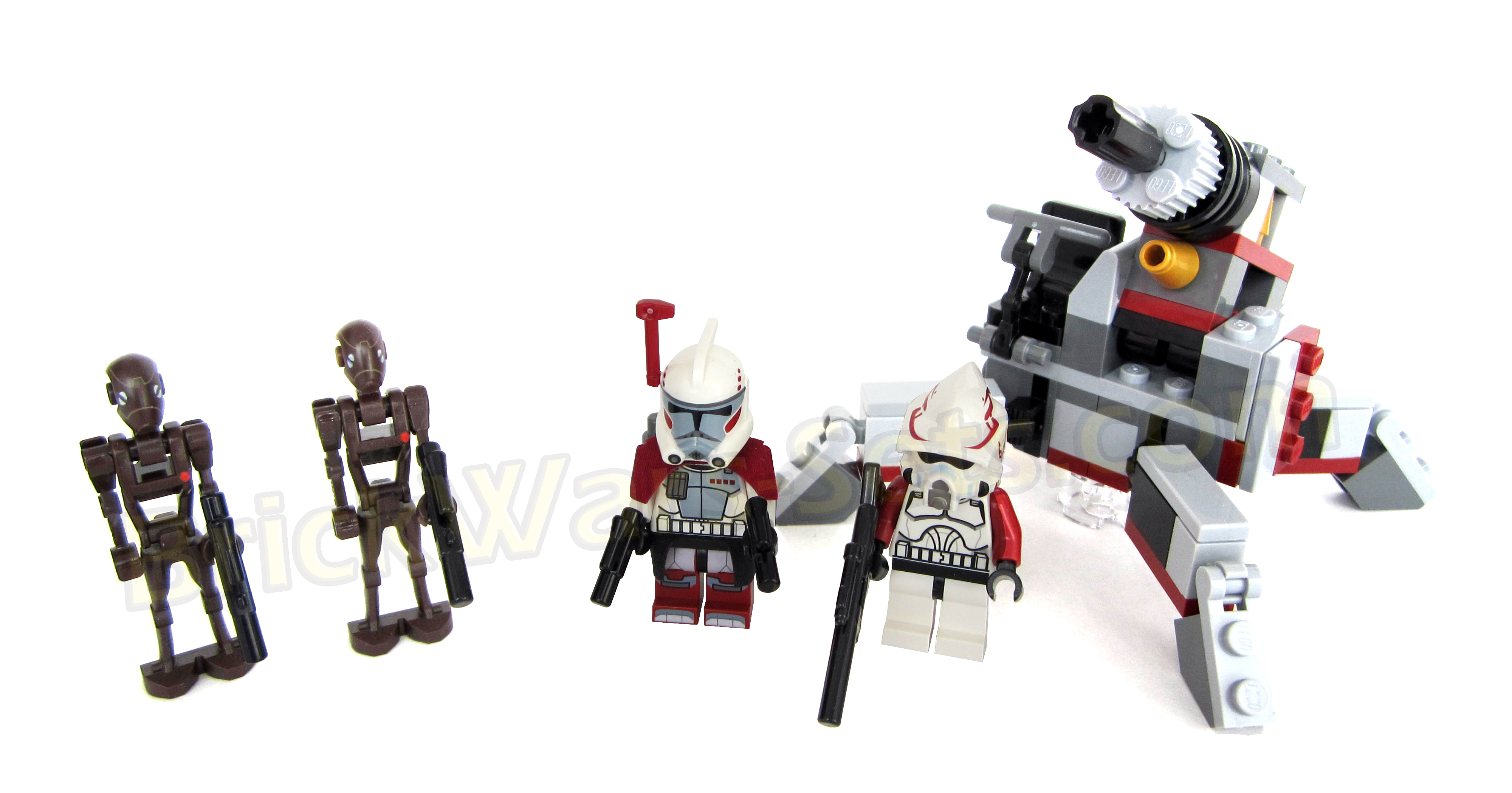 LEGO Star Wars 9488  Elite Clone Trooper And Commando Droid Battle Pack Star