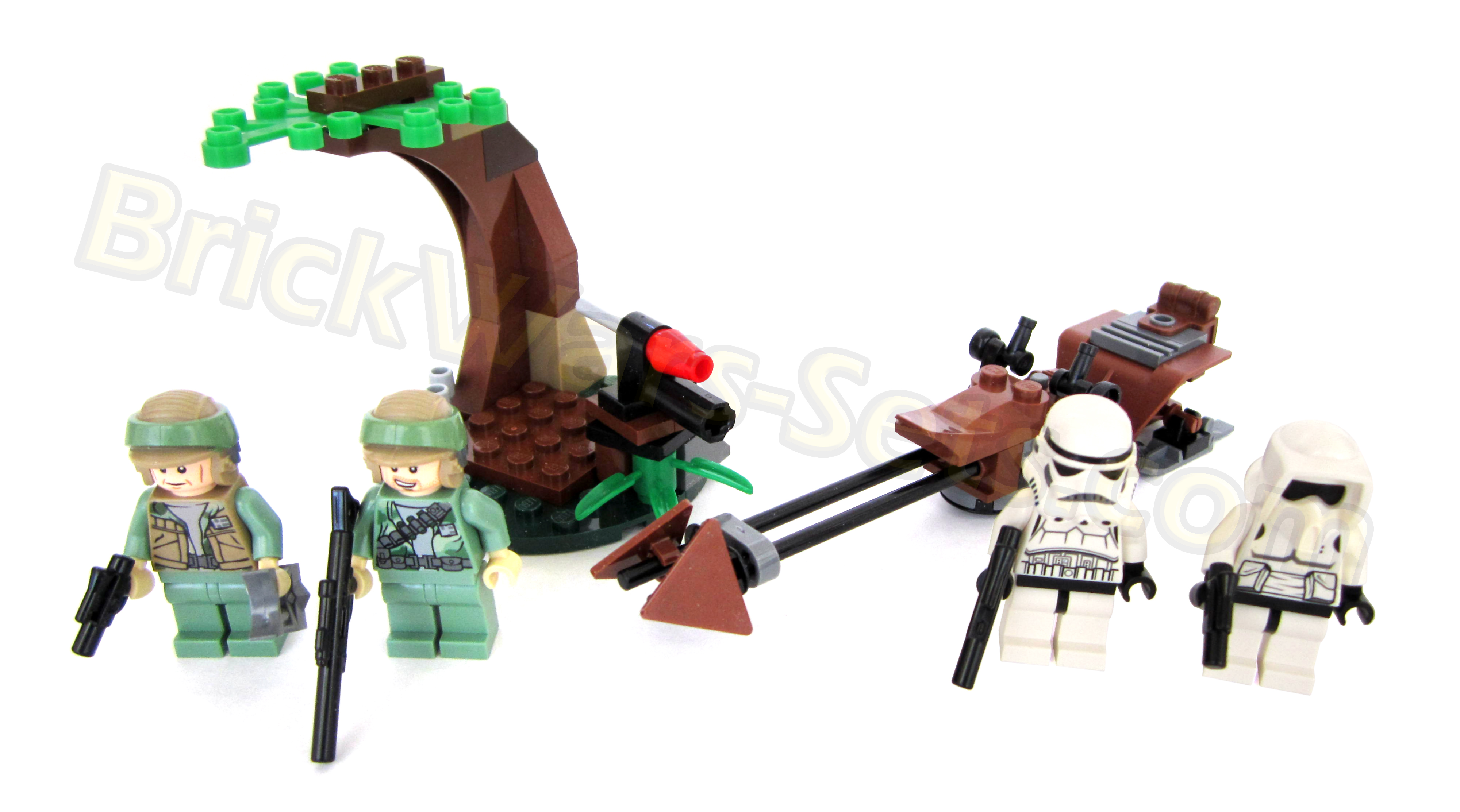 LEGO STAR WARS  9489 Endor Rebel Trooper & Imperial Trooper