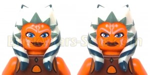 Lego 75013 Umbaran MHC (Mobile Heavy Cannon) - Ahsoka's Faces