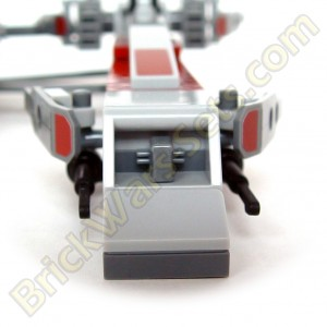 Lego 75012 BARC Speeder with Sidecar - BARC Speeder Engine Detail