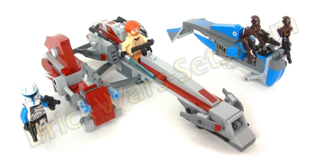 Lego 75012 BARC Speeder with Sidecar
