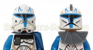 The new Rex compared to the old version (w/ helmets).