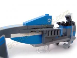 Lego 75012 BARC Speeder with Sidecar - Flitknot Speeder White Detailing