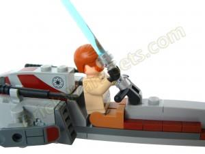 Lego 75012 BARC Speeder with Sidecar - Handlebar Issue