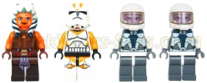 Lego 75013 Umbaran MHC (Mobile Heavy Cannon) - Minifigures (Front)
