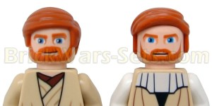 The new Obi-Wan compared to the old version.