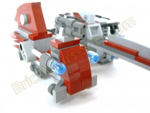 Lego 75012 BARC Speeder with Sidecar - Sidecar (Front)