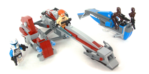 Lego 75012 BARC Speeder with Sidecar Review