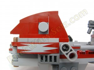 Lego 75012 BARC Speeder with Sidecar - Sidecar Detail