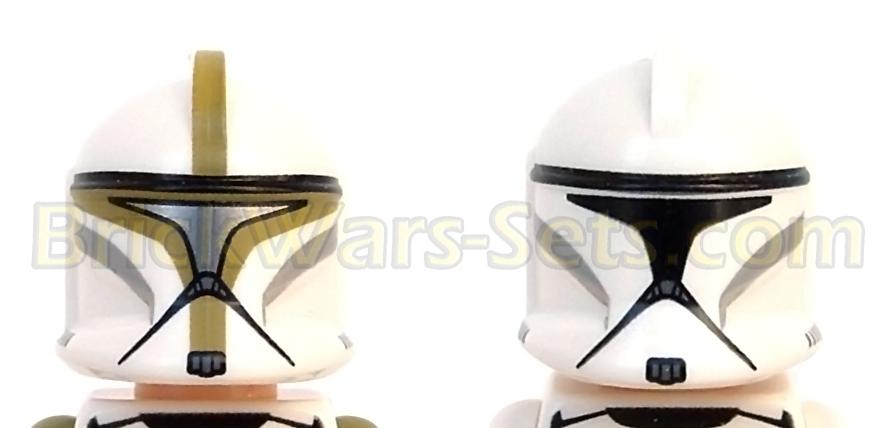 Lego 75000 Clone Troopers vs. Droidekas - Helmet Detail