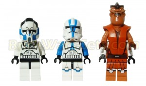 Lego 75004 Z-95 Headhunter - Minifigures