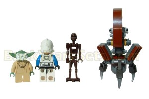 Lego 75002 AT-RT - Minifigures (Rear)