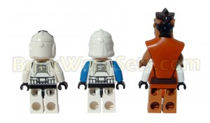 Lego 75004 Z-95 Headhunter - Minifigures (Rear)