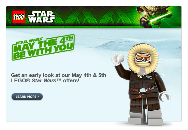 Exclusive Lego Star Wars Offers   Galactic Archives