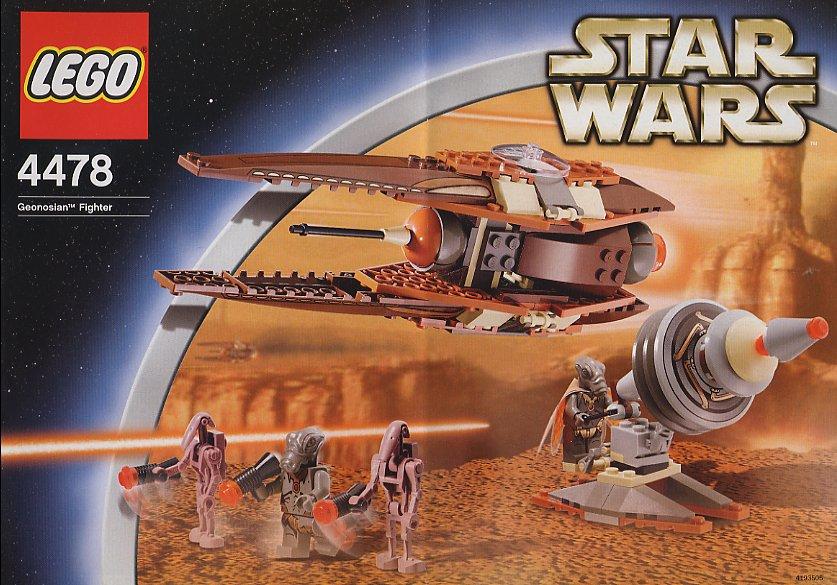 Lego 4478 Star Wars Geonosian Fighter