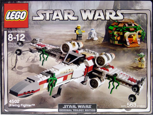 Lego 4502 Star Wars X-Wing Fighter