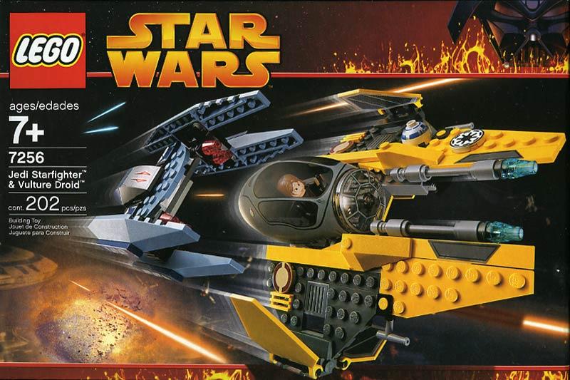 Lego 7256 Star Wars Jedi Starfighter Amp Vulture Droid