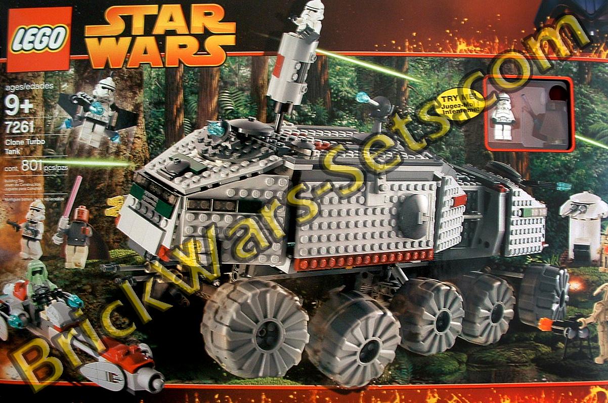 Lego 7261 Star Wars Clone Turbo Tank