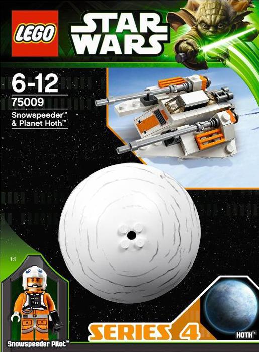 Lego 75009 Snowspeeder & Planet Hoth