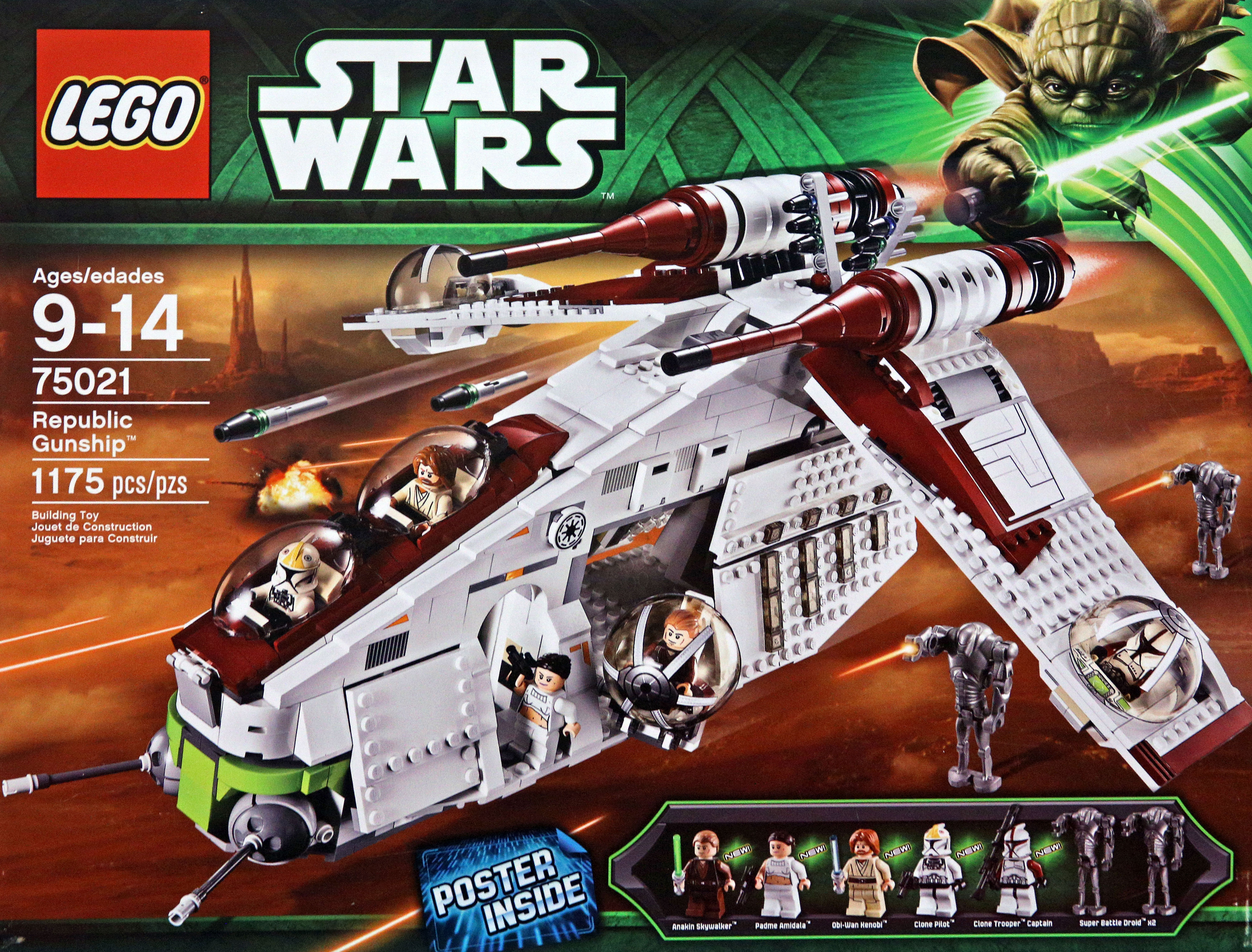 Lego 75021 Republic Gunship