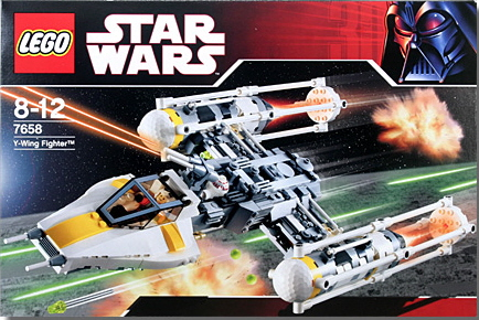 Lego 7658 Star Wars Y Wing Fighter