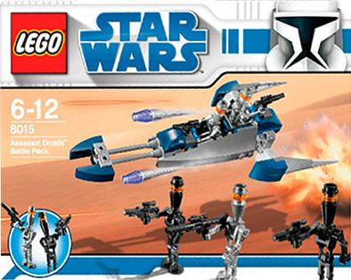 Lego 8015 Assassin Droids Battle Pack