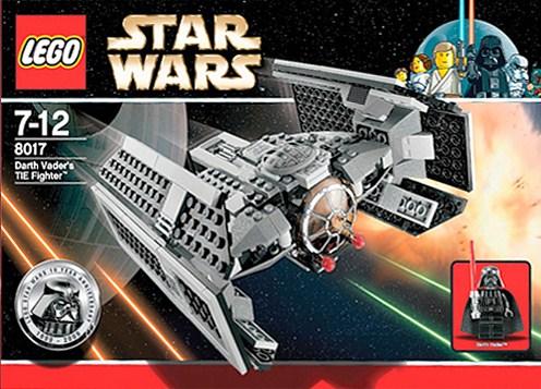 Lego 8017 Star Wars Vader's TIE Advanced