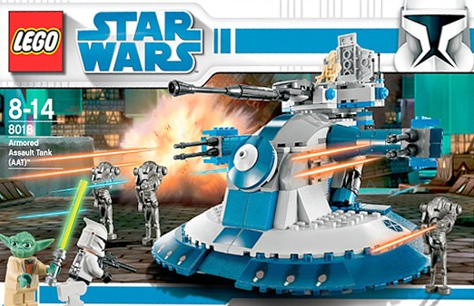 Lego 8018 Star Wars Armored Assault Tank Aat
