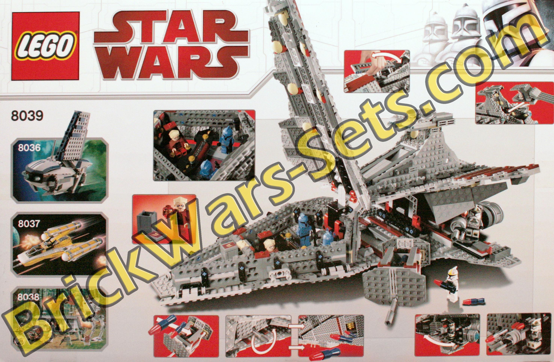 Lego 8039 Star Wars Venator Class Republic Attack Cruiser