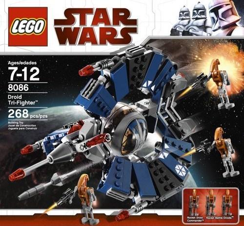 Lego 8086 Star Wars Droid Tri Fighter
