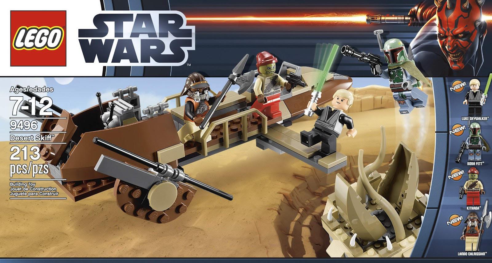 Lego 9496 Desert Skiff