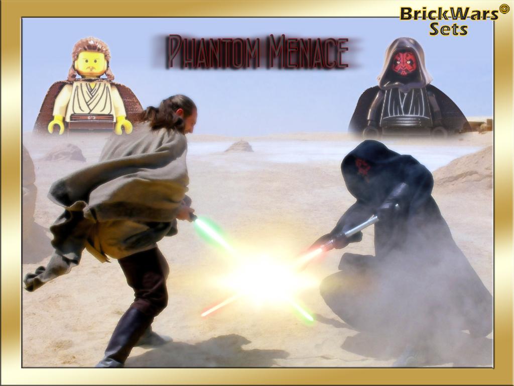 brickwarssets phantom menace lego star wars free wallpaper