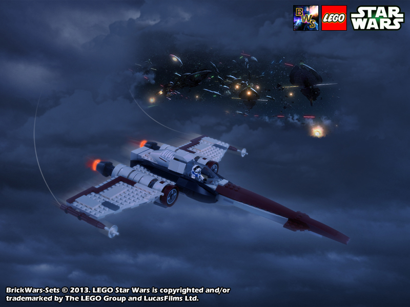 Brickwars Sets Airstrike Lego Star Wars Free Wallpaper