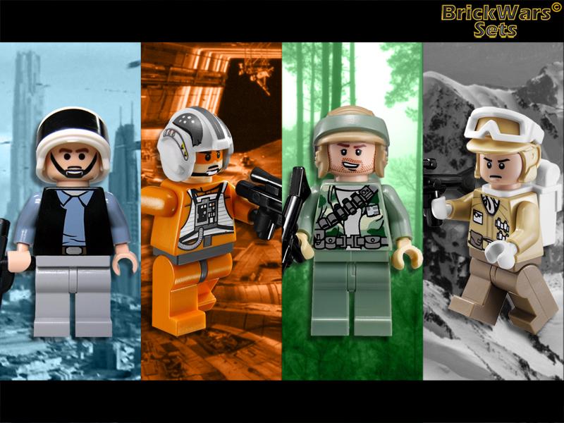 BrickWars-Sets: Lego Star Wars FREE Wallpaper (October - December '12)