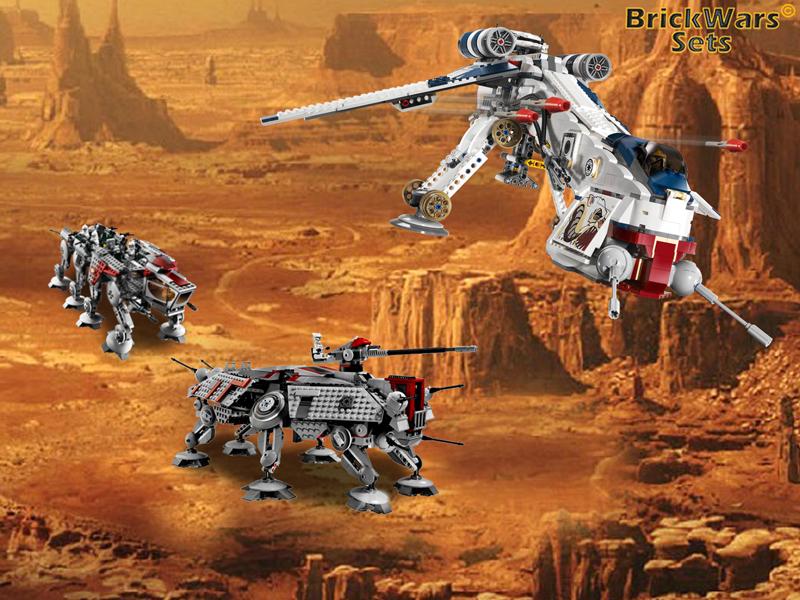 Brickwars Sets The Dropzone Lego Star Wars Free Wallpaper