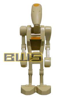 Lego Star Wars Battle Droid Commander Minifigure