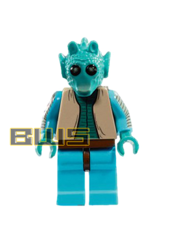 Lego Star Wars Greedo Minifigure