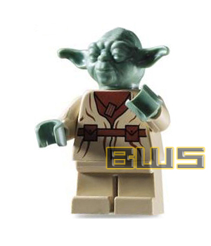 Gallery For > Lego Star Wars Yoda Minifigure