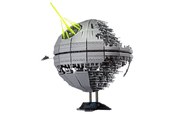 bricklinking the 10143 death star ii reviews brickpicker. Black Bedroom Furniture Sets. Home Design Ideas