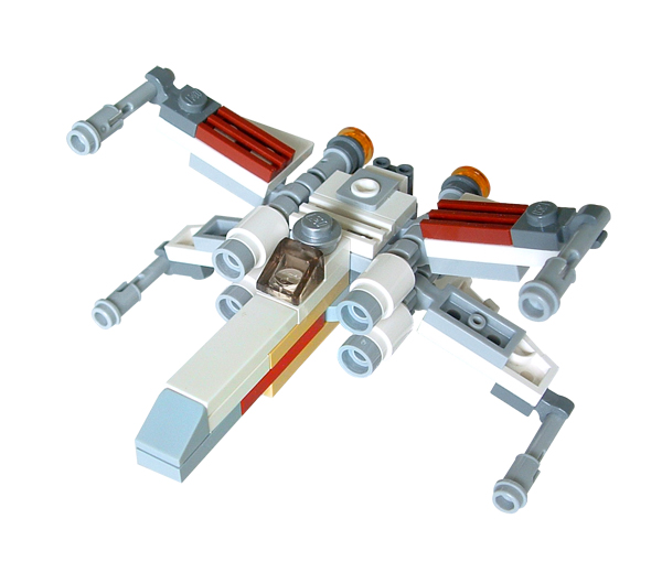 Star Wars X-wing Star Fighter Lego Set Mini