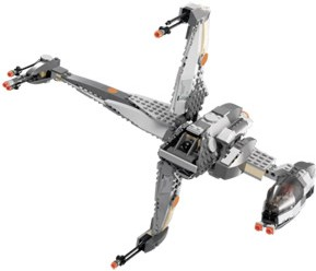 Lego 6208 B-Wing Fighter - Alternate View 1