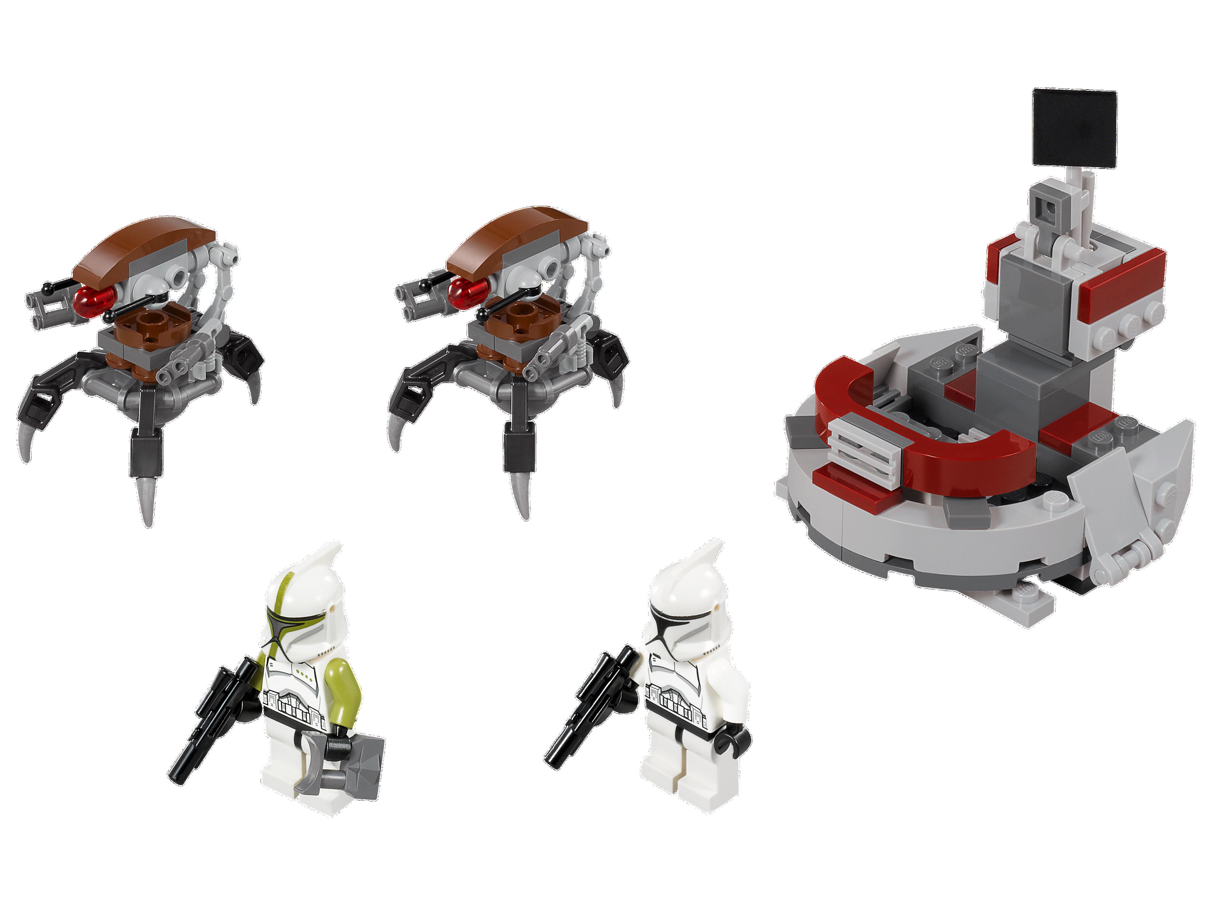 Lego 75000 Clone Troopers Vs Droidekas