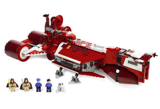 Lego 7665 Star Wars Republic Cruiser Limited Edition