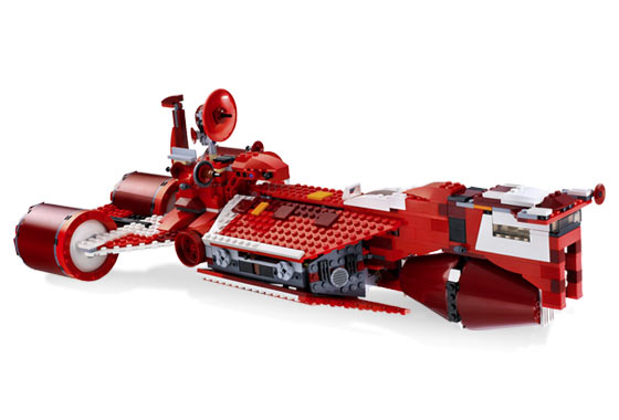 Lego 7665 Star Wars Republic Cruiser Limited Edition