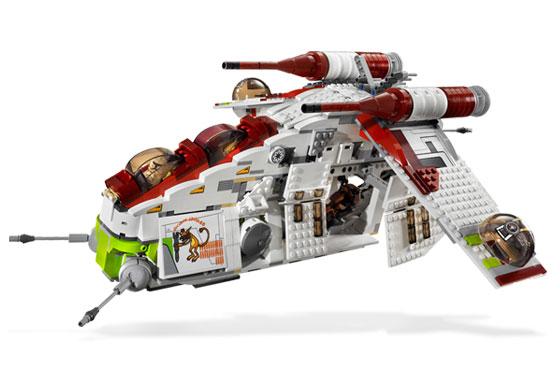 Lego 7676 Star Wars Republic Attack Gunship