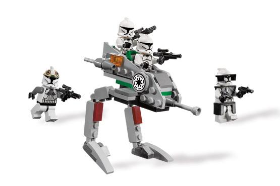 Lego Clone Walker Battle Pack Lego 8014 Clone Walker Battle