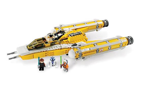 Lego 8037 Star Wars Anakin's Y-Wing Starfighter