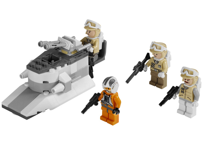 Lego 8083 Rebel Trooper Battle Pack | Star Wars Lego Price Guide