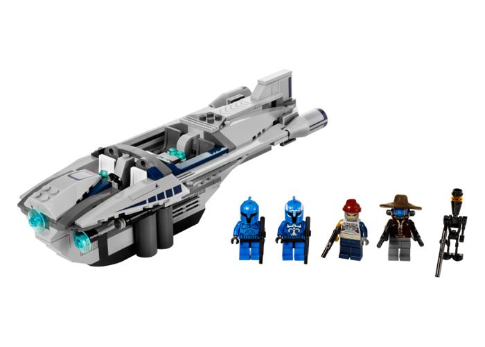 Lego 8128 Star Wars Cad Bane 39 S Speeder Includes 5